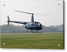 R44 Raven Helicopter Acrylic Print