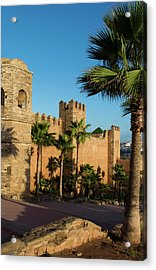 Rabat Morocco Beautiful Kasbah Udaya Acrylic Print by Bill Bachmann