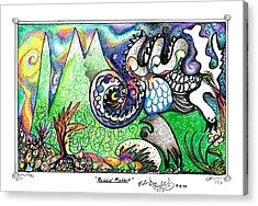 Rabbid Rabbit Acrylic Print