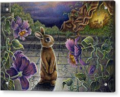 Rabbit Dreams Acrylic Print