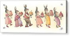 Rabbit Marcus The Great 11 Acrylic Print by Kestutis Kasparavicius