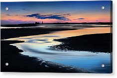Race Point Low Tide Sunset Acrylic Print