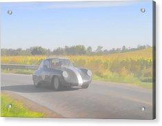 Racer Porsch 356 Acrylic Print by Jack R Perry