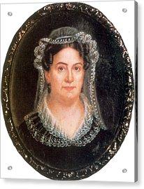 Rachel Jackson, Wife Of Andrew Jackson Acrylic Print by Science Source
