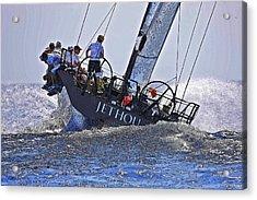 Racing Yacht Acrylic Print