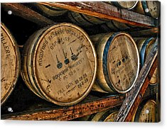 Rack House Woodford Reserve Acrylic Print by Allen Carroll
