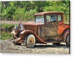 Rad Rusty Ride Acrylic Print