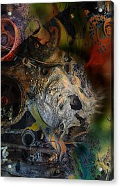 Raddled Brain Stems Acrylic Print
