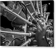 Radial Aircraft Engine Acrylic Print by Gary Warnimont