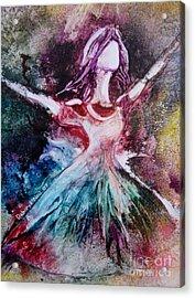 Radiant Bride Acrylic Print
