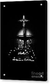 Radiant Light - Black Acrylic Print