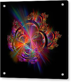 Radiant Rings Acrylic Print