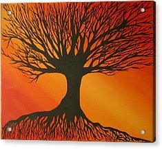 Radiant Tree Acrylic Print