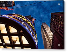 Radio City And 30 Rock Acrylic Print
