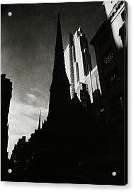 Radio City Music Hall In New York City Acrylic Print by Nicholas Muray