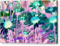 Radioactive Bouquet Acrylic Print