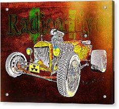 Radioactive Rod Acrylic Print