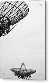 Radiotelescope Antennas.  Acrylic Print
