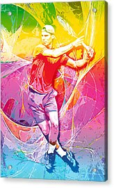 Rafael Nadal 01 Acrylic Print