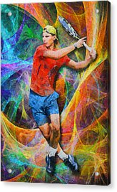 Rafael Nadal 02 Acrylic Print