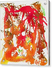 Rage Acrylic Print