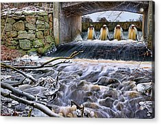 Raging River Acrylic Print by EXparte SE