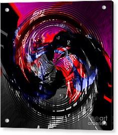 Raging Temper Acrylic Print by Ashantaey Sunny-Fay