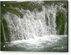 Raging Waters Acrylic Print by Rich Collins