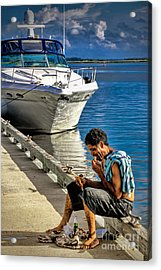 Rags To Riches Acrylic Print