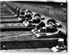 Rail Tie Acrylic Print