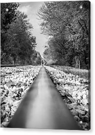 Rail Way Acrylic Print