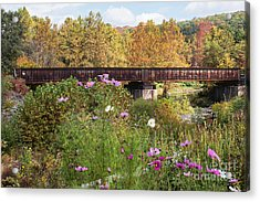 Railroad Bridge Acrylic Print
