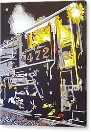 Railroad Museum Acrylic Print by Paul Guyer