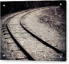 Rails Acrylic Print