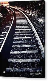 Acrylic Print featuring the photograph Railtrack by Craig B