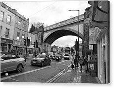 Railway Bridge Acrylic Print by Bishopston Fine Art