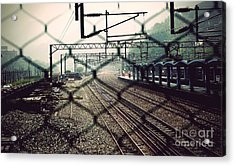 Acrylic Print featuring the photograph Railway Station by Yew Kwang