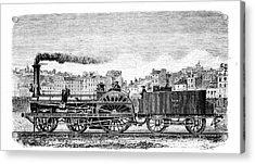 Railway Steam Locomotive Acrylic Print by Universal History Archive/uig