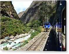 Railway To Machu Picchu Acrylic Print