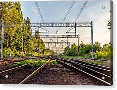 Railway To Nowhere Acrylic Print