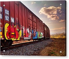 Railways Acrylic Print