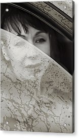 Rain Again Acrylic Print by Svetlana Sewell
