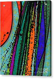 Rain At My Window Acrylic Print