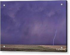 Rain Bolt Acrylic Print