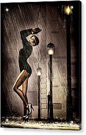 Rain Dance Acrylic Print by Bob Orsillo