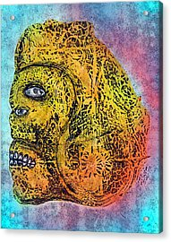 Rain God Acrylic Print by Dennis Stahl