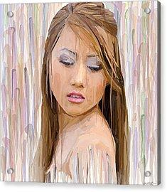Rain Of Color Acrylic Print by Robert Wheater