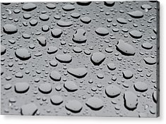 Rain On Sunroof Acrylic Print