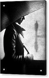 Rain Please Tell Him... Acrylic Print by Sebastian Kisworo