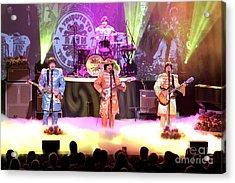 Rain  The Beatles Tribute Band Acrylic Print by Concert Photos
